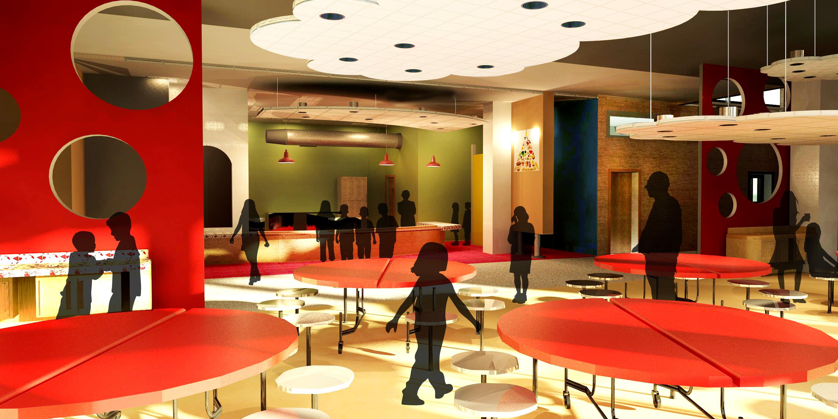Elementary School Cafeteria Design images