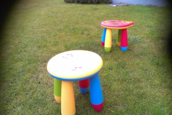 Sedie e tavoli per bambini: sgabello per bambini